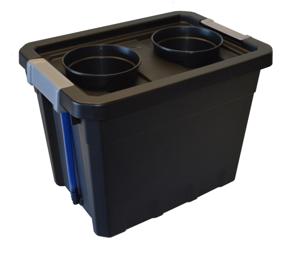 "Replacement Bin & Lid: # 07St 13.3"" x 12.6""  ~ You choose net cups"