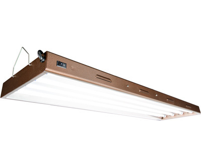 Agrobrite Designer T5 216W 4' 4-Tube Fixture with Lamps