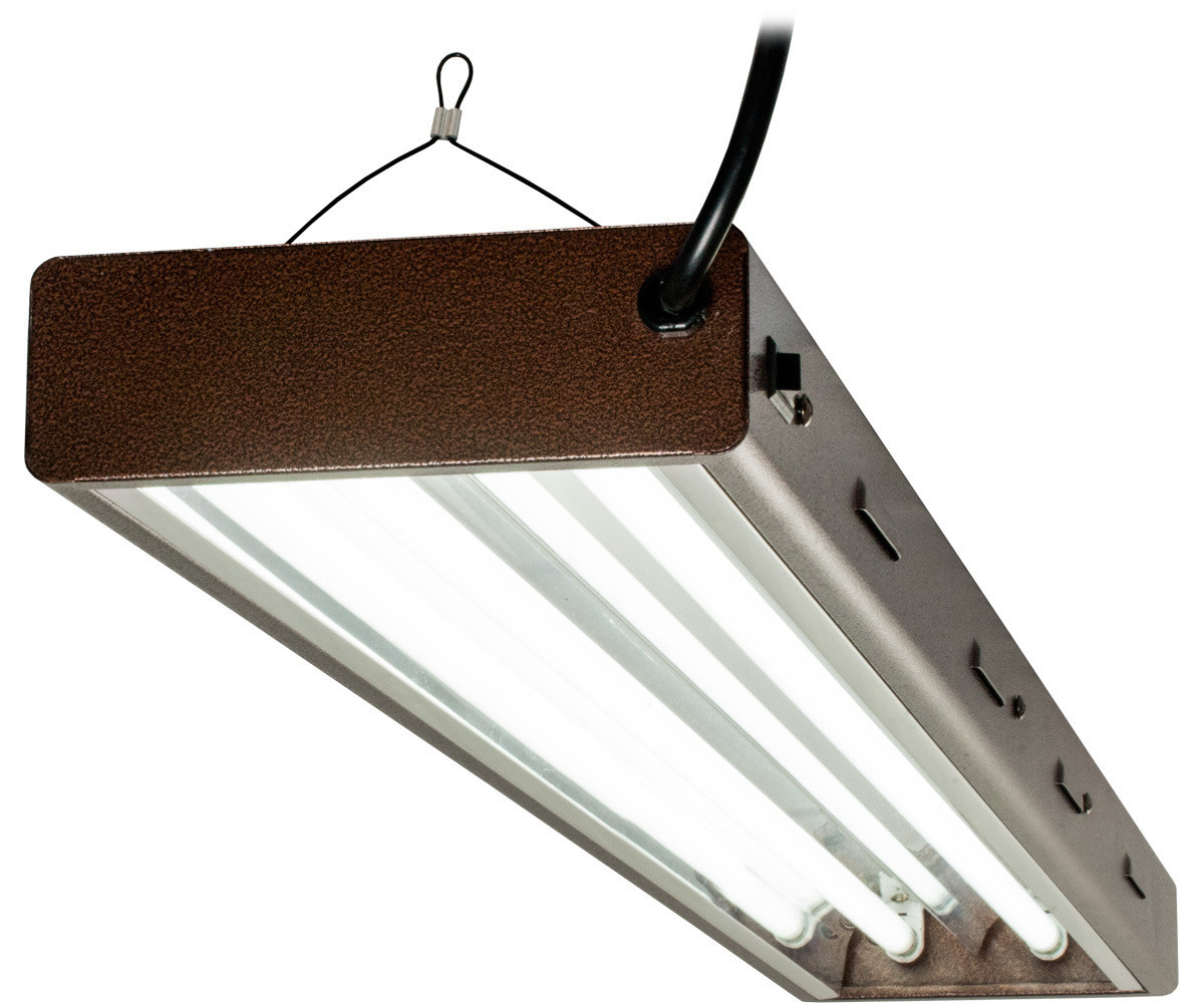 Agrobrite Designer T5 108W 4' 2-Tube Fixture with Lamps