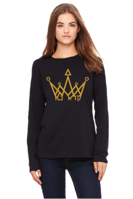 Preorder:  Kara Na Crown long sleeve Tshirt + Free Phone Sanitizer