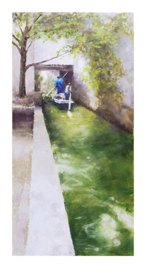 'Canal, Suzhou, China' Print