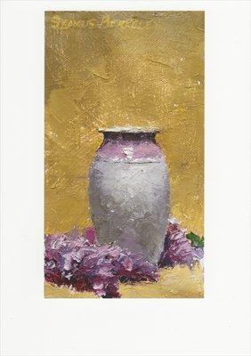 'Lilacs, Lavendar Vase' Notecard