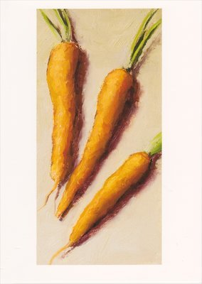 'Carrots' Notecard