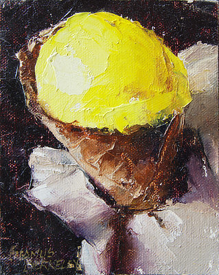 'Mango Agave Sorbet' Painting
