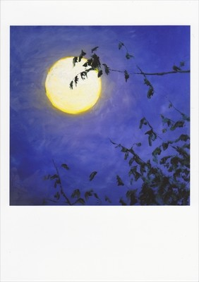 'Full Moon II' Notecard