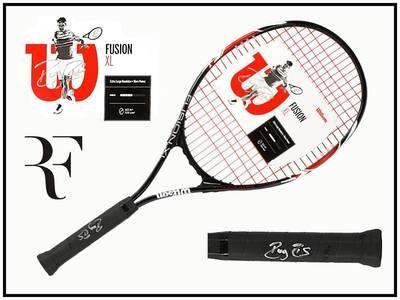 Racchetta Tennis ROGER FEDERER Autografata  Signed Roger Federer  with COA certificate of authenticity