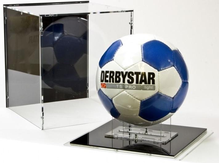 Espositore Per Pallone Calcio Display Case for Ball Soccer Football