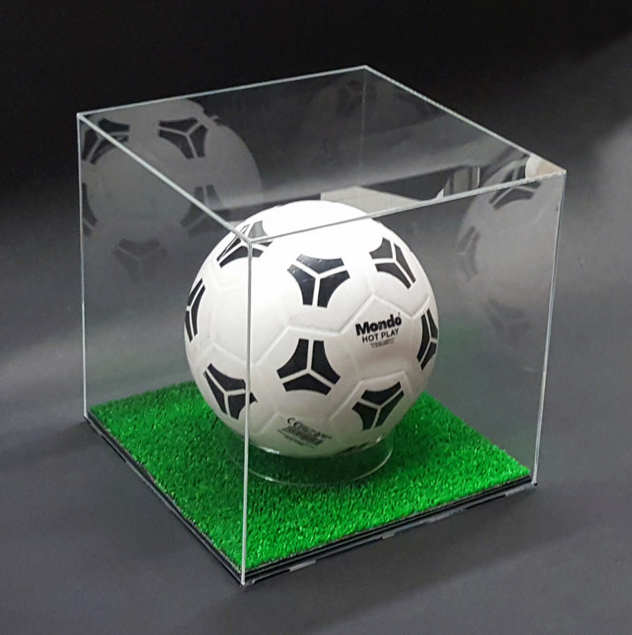 Espositore Per Pallone Calcio Display Case for Ball Soccer Football