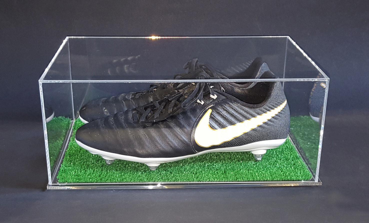 Espositore Per Scarpa da  Calcio Display Case for Boot Soccer Football