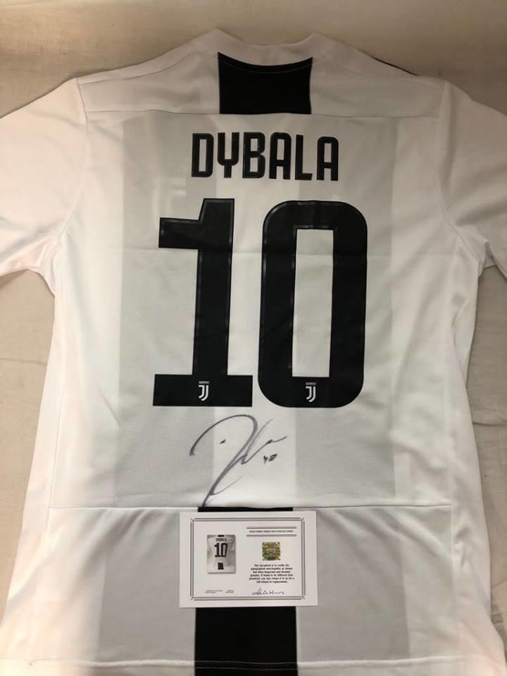 Maglia Juventus Maglia Casa 2018 2019 Autografata DYBALA   10 Signed wich COA certificate Juventus DYBALA 10 Signed 2018 2019