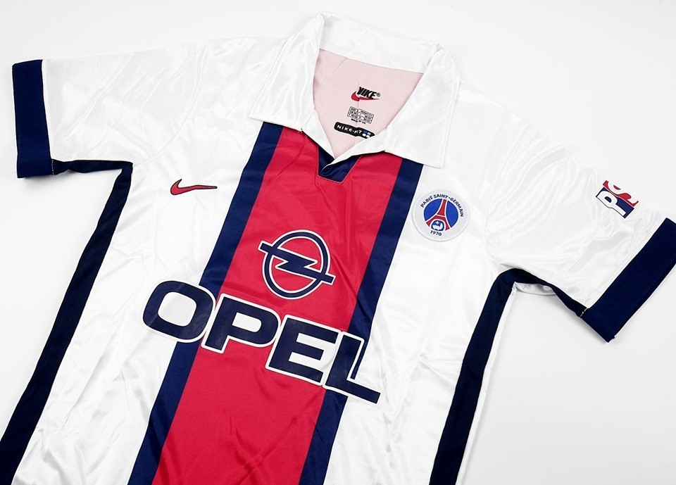 Paris Saint-Germain   MAGLIA TRASFERTA 1998 1999 JERSEY AWAY 98 99 PSG
