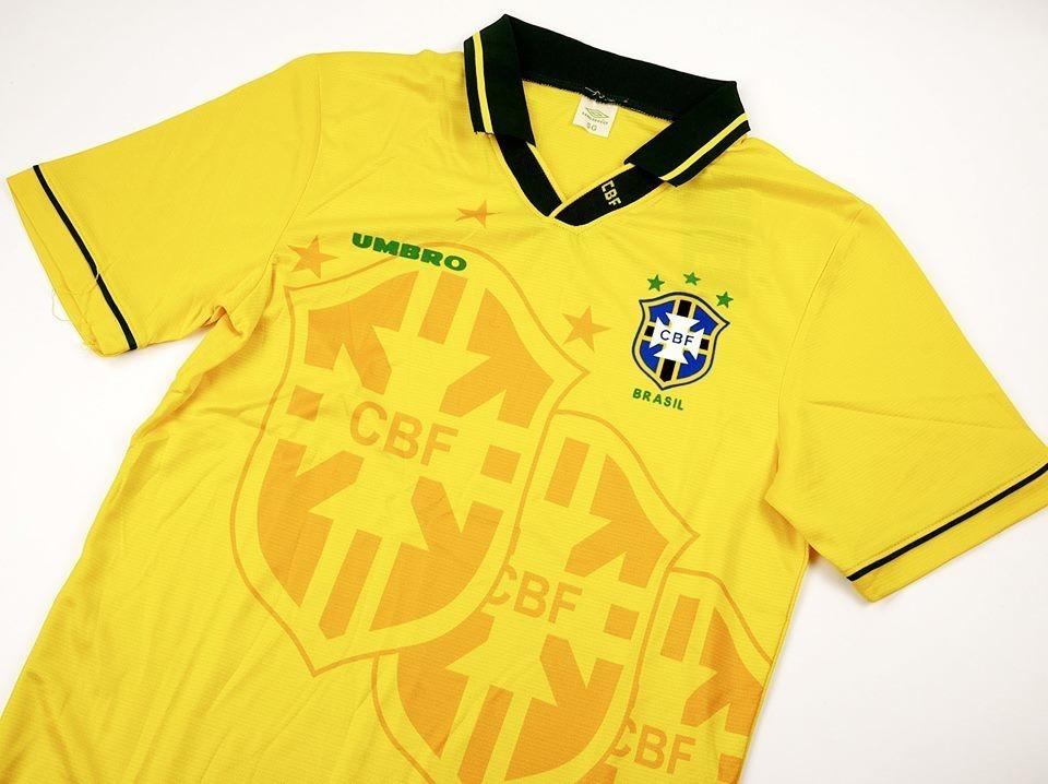 BRASILE   MAGLIA CASA 1994  JERSEY HOME BRAZIL 94