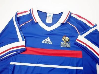 FRANCIA  MAGLIA TRASFERTAFINALE  WORLD CUP  1998 JERSEY FINAL WORLD CUP 98