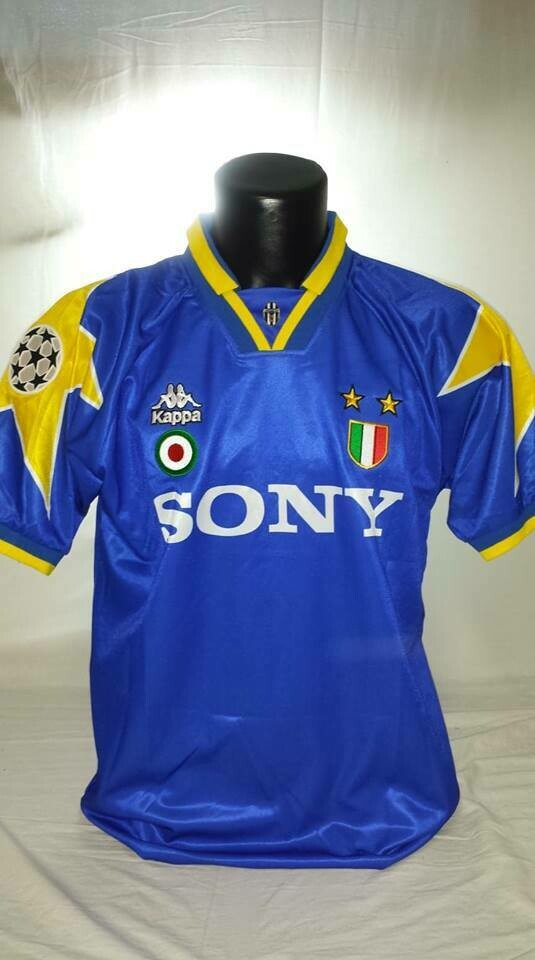 JUVENTUS FINALE CHAMPIONS 1996 JERSEY MAGLIA FINALE