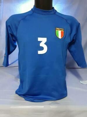 ITALIA EURO 2000 MAGLIA CASA JERSEY HOME EUROPEI 2000