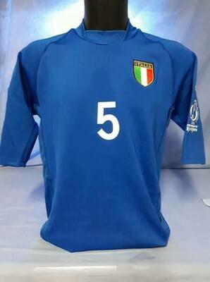 ITALIA WORLD CUP 2002 MAGLIA CASA JERSEY HOME KOREA 2002 MONDIALI
