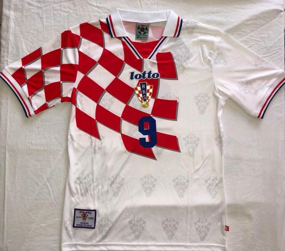 CROAZIA WORLD CUP 1998 MONDIALI 98 CROATIA CROAZIA WORLD CUP 1998