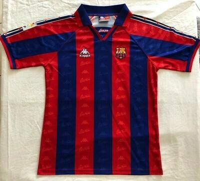 Barcelona Maglia Casa 1995 1997 Jersey Home 95 97