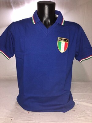 ITALIA RETRO MAGLIA 1982    ITALY RETRO 1982   MAGLIA JERSEY RETRO 82 WORLD CUP 82