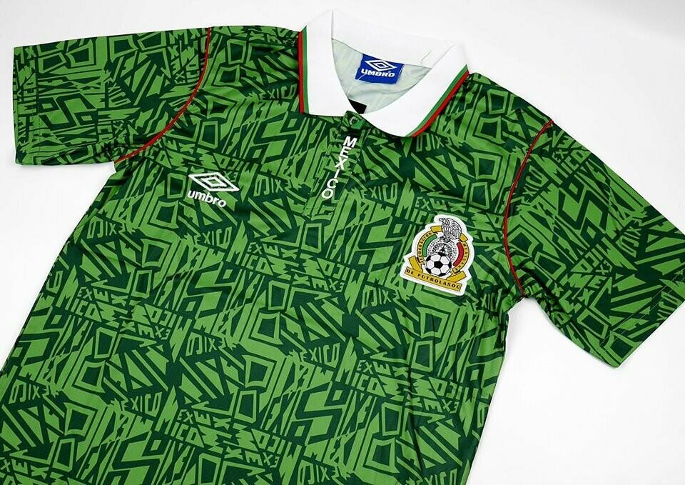 MESSICO 1992 1994   MAGLIA CASA 1992  1994  JERSEY HOME MEXICO 92 94