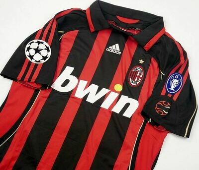 MILAN CASA JERSEY HOME 2006 2007 CHAMPIONS SERIE A