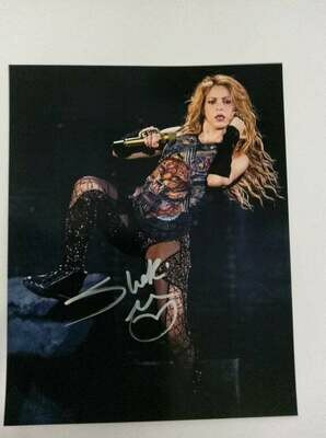 FOTO Shakira El Dorado World Tour Autografata Signed + COA Photo Shakira El Dorado World Tour Autografata Signed
