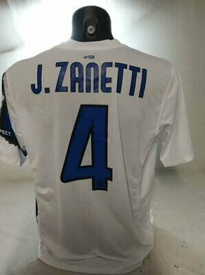 INTER 2010 2011 DRAGON ZANETTI TAGLIA L SIZE L