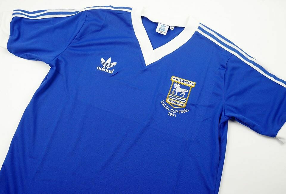 IPSWICH TOWN FINAL UCL 1981 MAGLIA FINALE 81