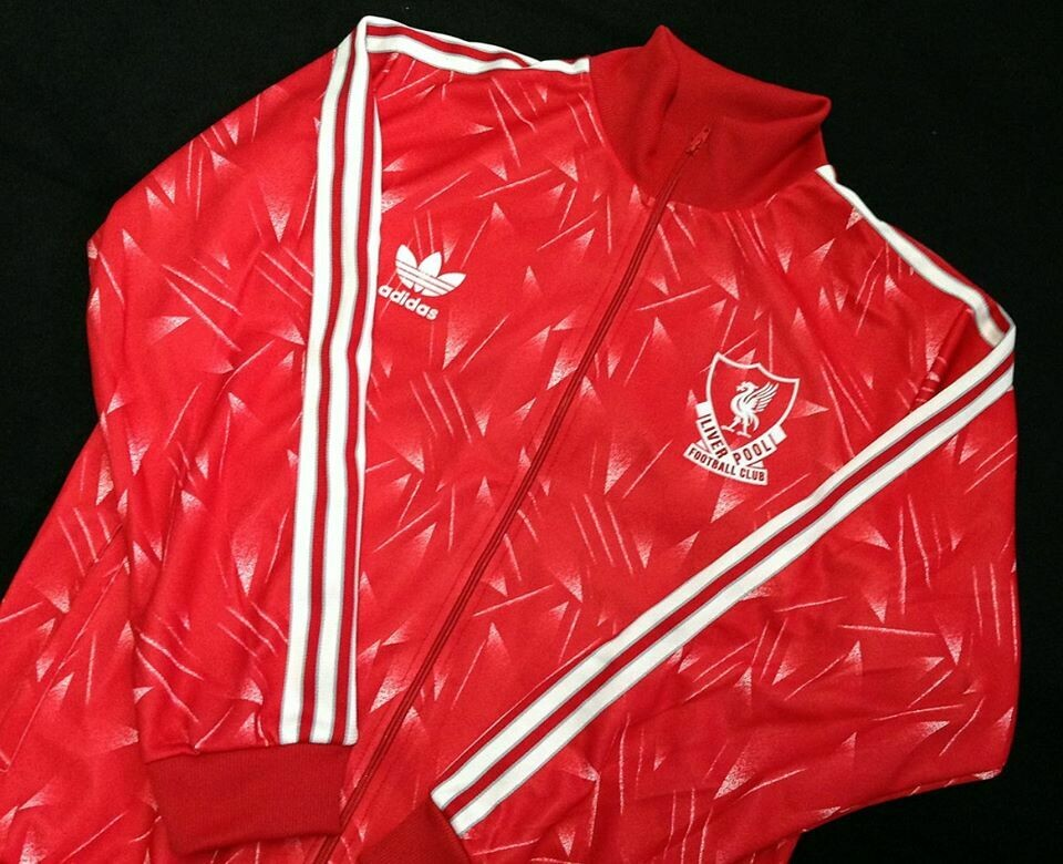 LIVERPOOL CANDY 1990 JACKET GIACCA LIVERPOOL
