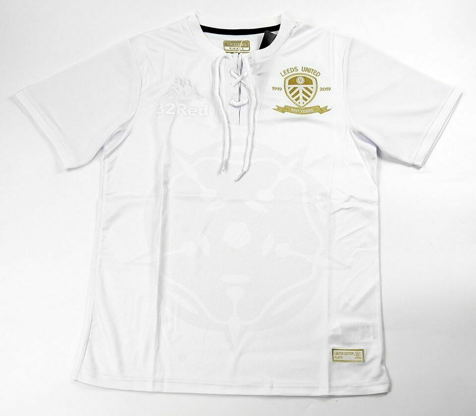 LEEDS UNITED HOME CENTENARY SHIRT 2019 MAGLIA CASA