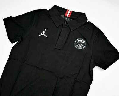 PSG POLO X JORDAN BLACK 2019-2020