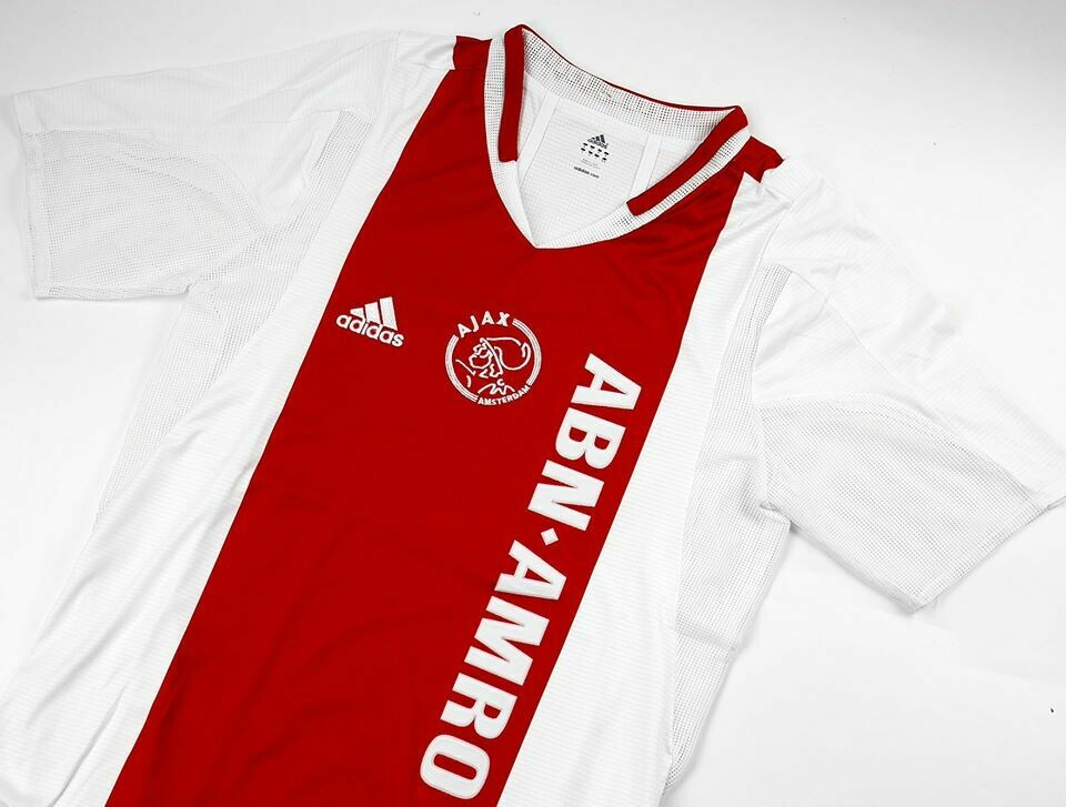 AJAX HOME 2004-2005 PLAYER VERSION 2 LAYER AJAX MAGLIA CASA 04 05
