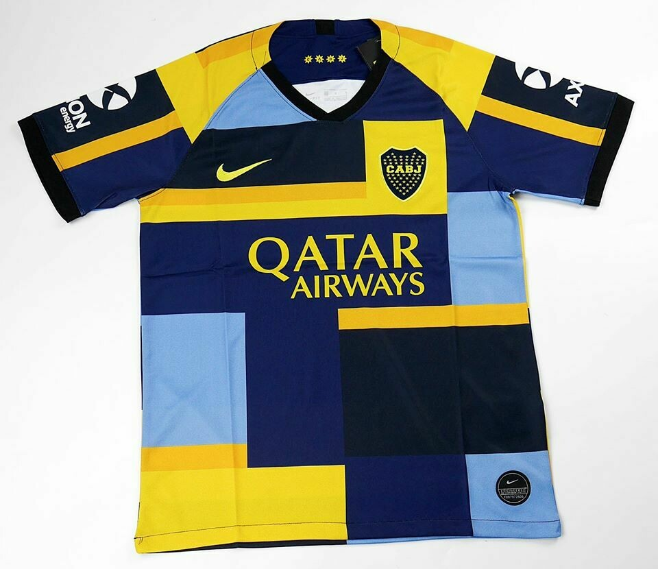BOCA JUNIOR MASH UP JERSEY 2019-2020 MAGLIA BOCA JUNIORS 19 20