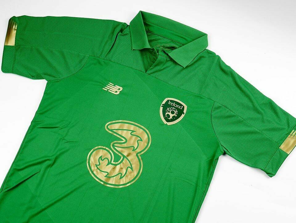 IRELAND HOME EURO 2020 MAGLIA CASA EURO 2020 IRLANDA