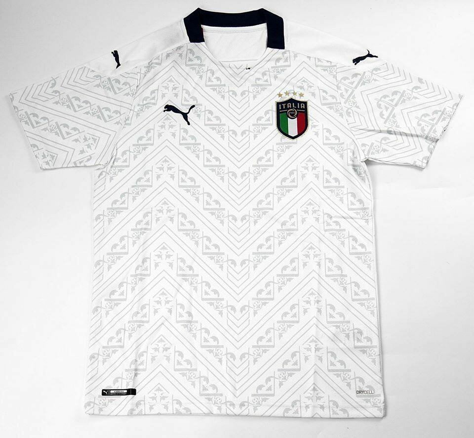 ITALY AWAY WHITE EURO 2020 ITALIA MAGLIA TRASFERTA EUROPEI