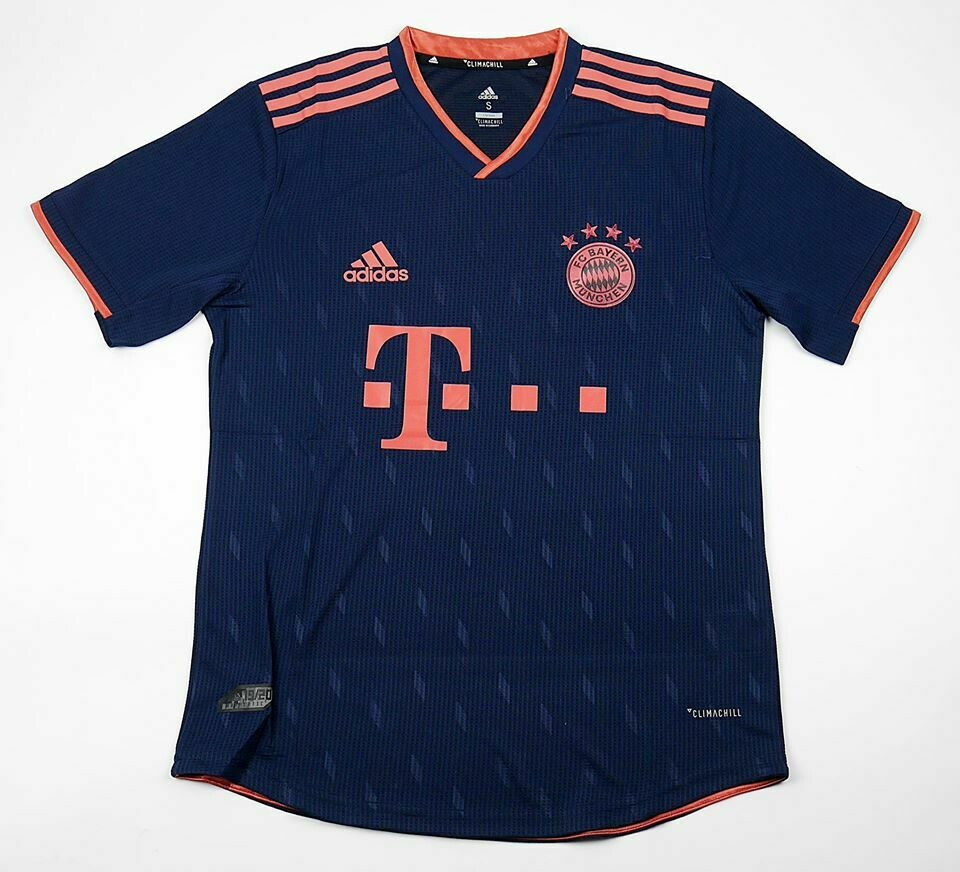 BAYERN AWAY 3RD PLAYER VERSION 2019-2020 MAGLIA TRASFERTA 19 20