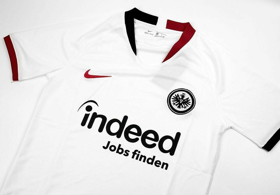 Eintracht Frankfurt AWAY 2019-2020 MAGLIA TRASFERTA