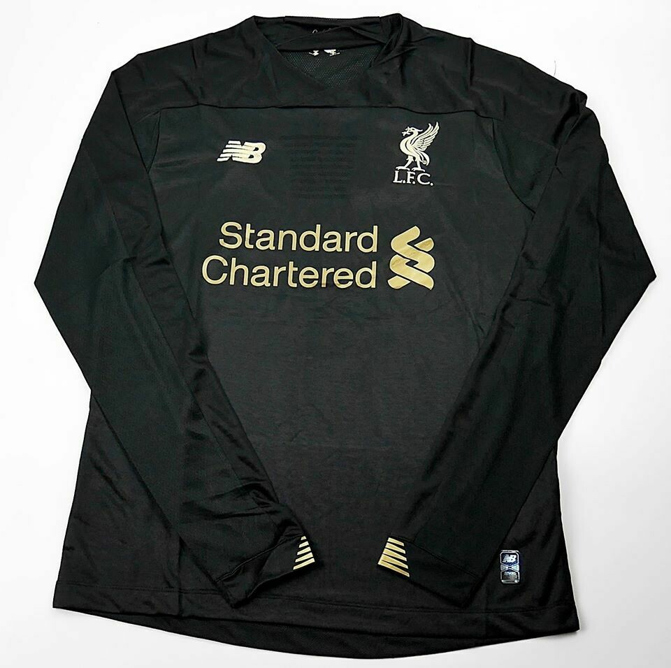 LIVERPOOL GOALKEPPER LONG SLEEVED 2019-2020 MAGLIA PORTIERE