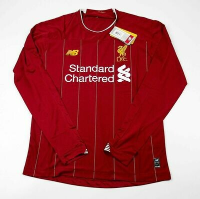 LIVERPOOL HOME LONG SLEEVED 2019-2020 MAGLIA CASA