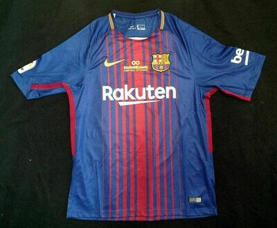 BARCELONA HOME LAST MATCH INFINITY 8 A.INIESTA 2018 VERSIONE PLAYER