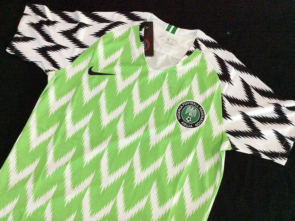 NIGERIA HOME WC 2018 MAGLIA CASA