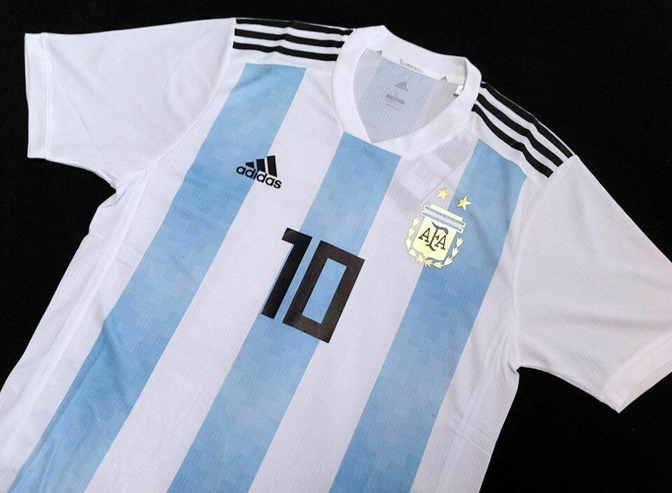 ARGENTINA HOME PLAYER WC 2018 MAGLIA CASA