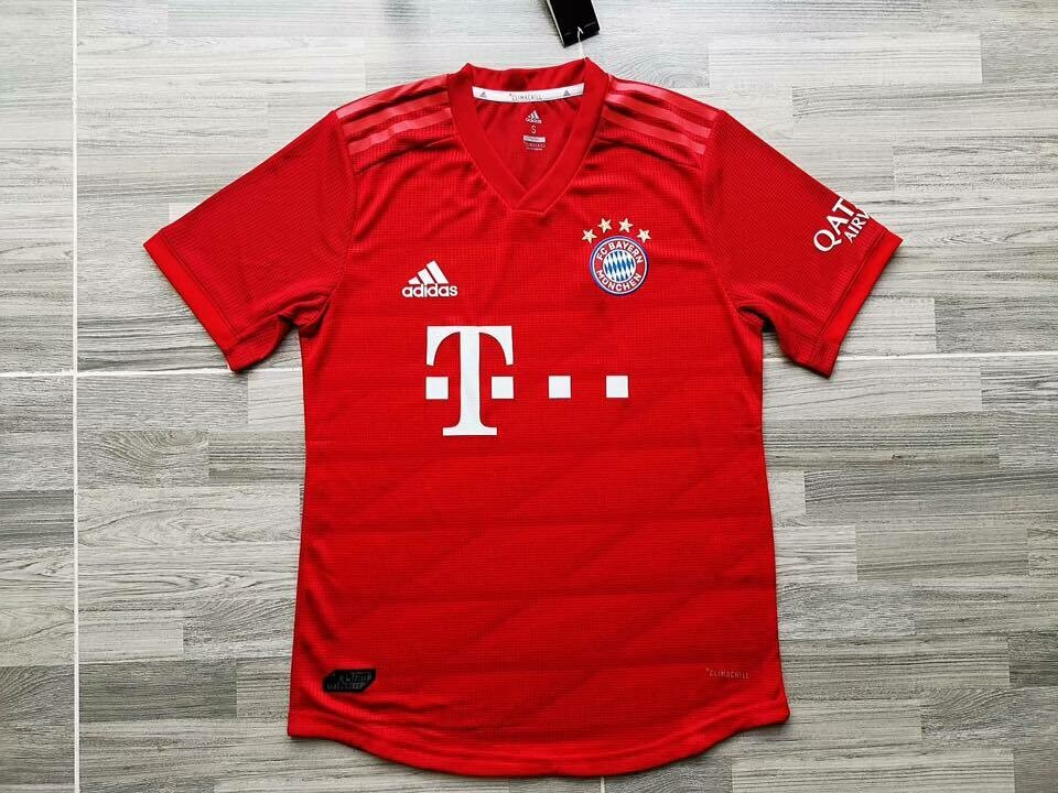 BAYERN HOME PLAYER 2019-2020 MAGLIA CASA BAYER PLAYER VERSION
