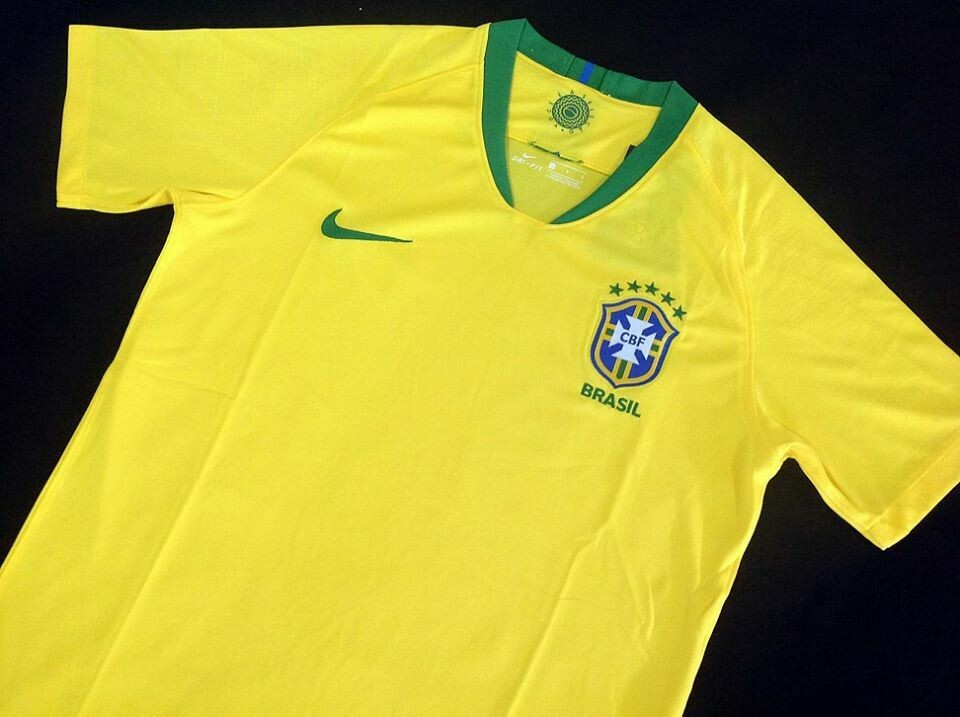BRAZIL HOME WC 2018 BRASILE WORLD CUP 18