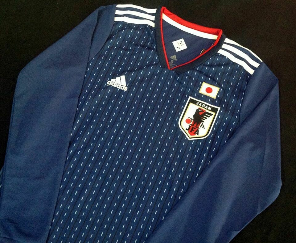 JAPAN HOME WC 2018 LONG SLEEVED MANICHE LUNGHE
