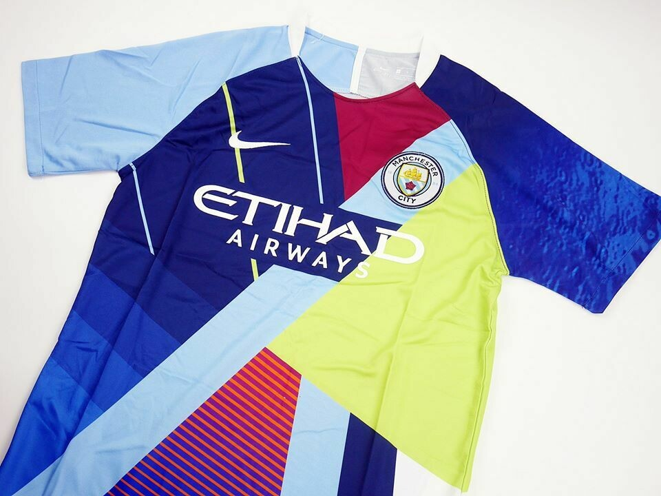 MAN CITY MIX NIKE 6 YEARS MIX YEARS
