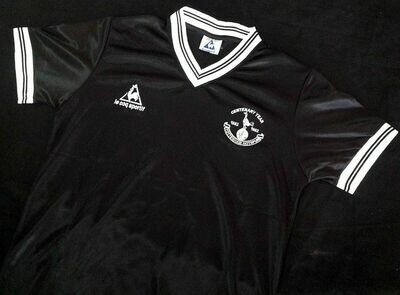 SPURS AWAY BLACK CENTENARY 1982-1983 MAGLIA CENTENARIO