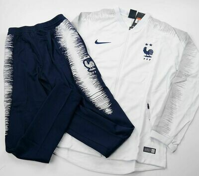 FRANCE JACKET TRUCKSUIT 2 STARS WHITE 2018-2019 FRANCIA