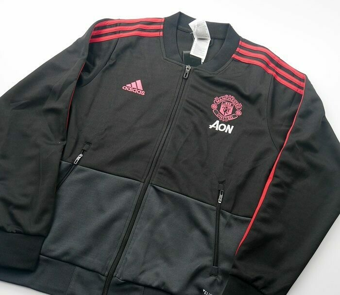 MAN UTD JACKET BLACK 2018-2019 GIACCA MAN UTD