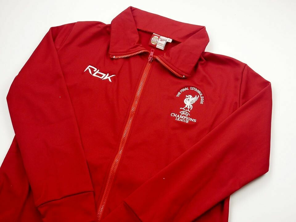 LIVERPOOL JACKET FINAL ISTANBUL 2005 GIACCA